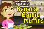 How To Bake Banana Crumb Muffins