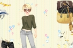 Jeans Fashion Dress Up