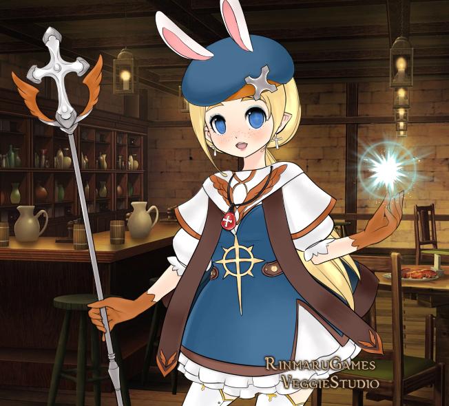 Jrpg heroine creator: Cleric