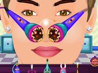 Justin Bieber Nose Doctor