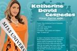 Katherine David Cespedes Miss Bolivia 2008 Dress-up