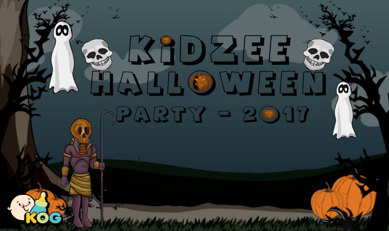 Kidzee Halloween Party 2017