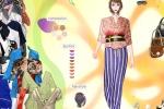 Kimono Inspired Fashion Dress Up