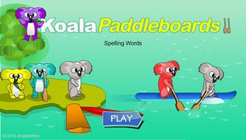 Koala Paddleboards Spelling