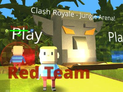 Kogama: Clash Royale  Jungle Arena