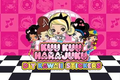 Kuu Kuu Harajuku Stickers