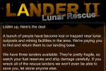 Lander 2 - Lunar Rescue