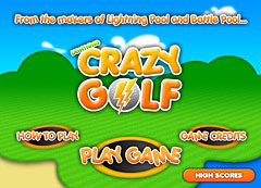Lightning Crazy Golf