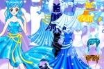 Little Blue Princess Dress Up