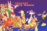 Loony Tunes Christmas Puzzle