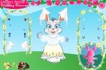 Madison Rabbit In Wedding Dress up