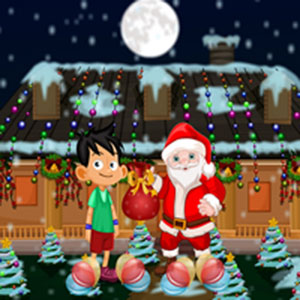 Make the kid meet Santa