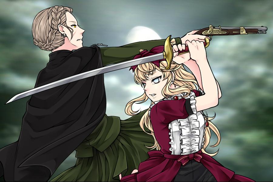 Manga Creator Vampire Hunter page 10