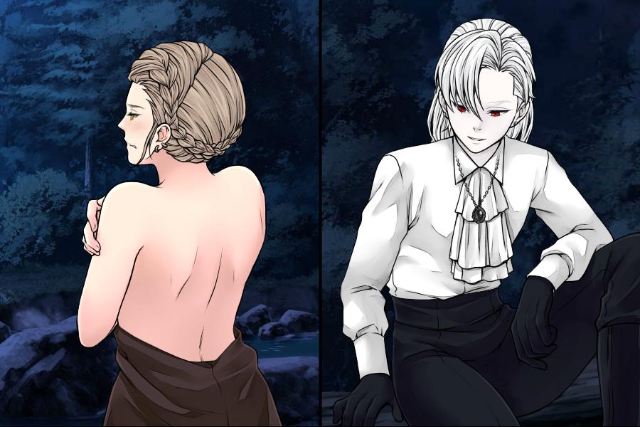 Manga Creator Vampire Hunter page 13