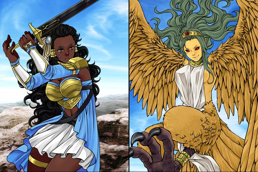 Manga Creator World of Fantasy page 5