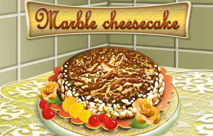 Marble Cheesecake Cooking