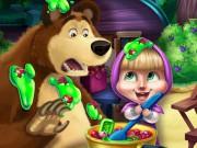 Masha and Bear Kitchen Mischief