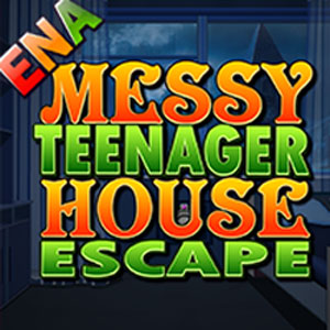 Messy Teenager House Escape