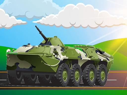 Military Vehicles Jigsaw