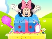 Minnie Mouse Surprise Cake