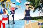 Miss Sailor Girl Dress Up
