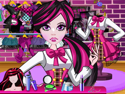 Monster High Clothing Shop