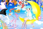 Moon Fairy Costume Dress-up