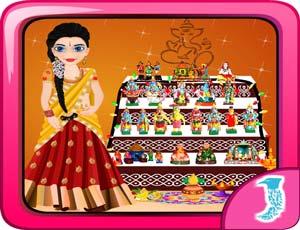 Navarathri Dussehra Dress Up