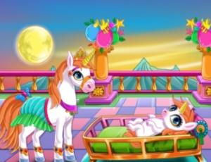 Newborn Unicorn Welcome Party