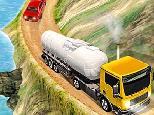 Oil Tanker Transporter Truck