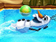 Olaf Swimming Poo