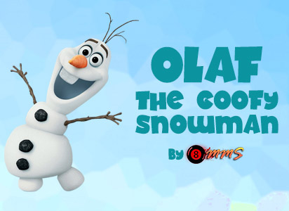 Olaf, The Goofy Snowman