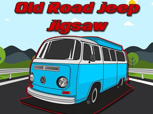Old Road Jeep Jigsaw