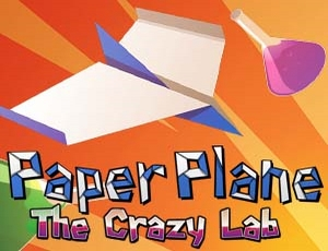 Play Paper Plane The Crazy Lab | Free Online Games