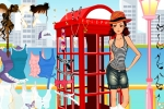 Phonebooth Girl Dress Up