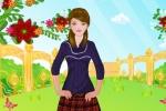 Picnic Girl Dressup