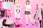 Pink Glitter Fashion Dressup