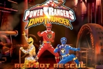 Power Rangers Dinothunder Red Hot Rescue