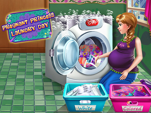 Pregnant Princess Laundry Day