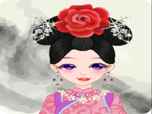 Pretty Chinese Qing Princess