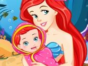 Princess Ariel Gives Birth