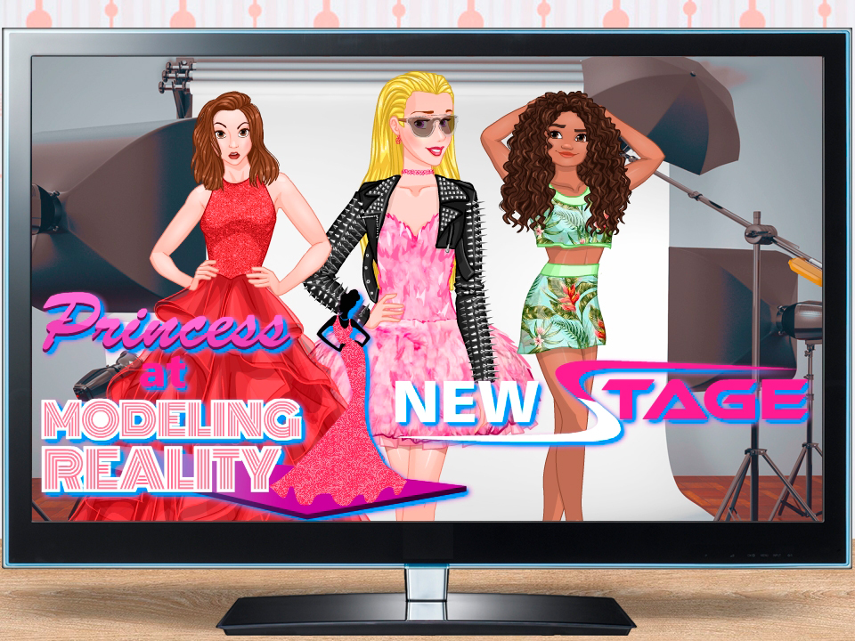 Princess At Modeling Reality: New Stage