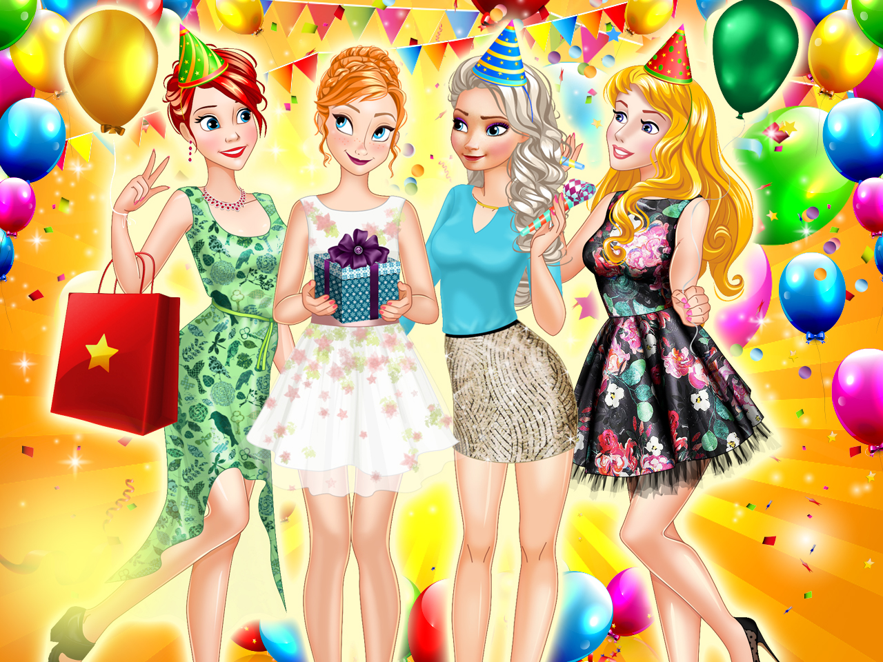 Princess Birthday Party Surpise