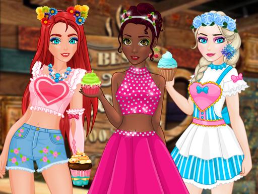 Princess cupcake