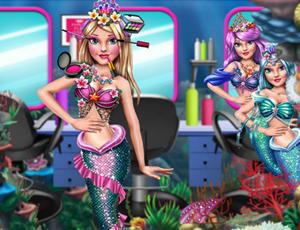 Princess Mermaid Beauty Salon