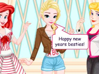 Princess New Years Resolutions