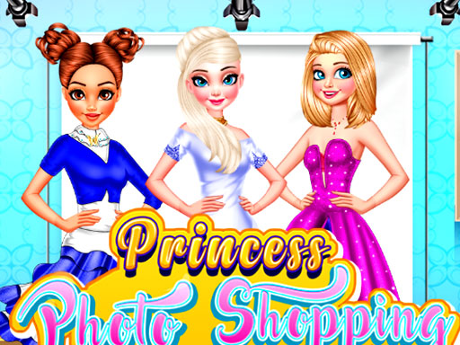 Princess Photo Shopping Dressup