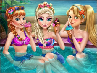 Princess Pool Party