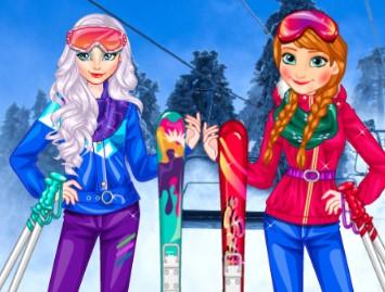 Princesses At Ski