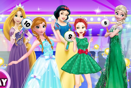Princesses Fashion Clash